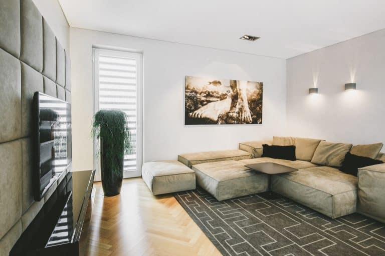 Tischlerei Ulrich E Wohnzimmer Leder Couch chair Flatscreen hometheather 2