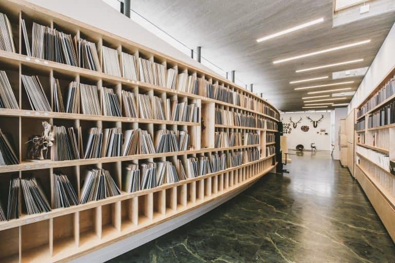 Tischlerei Ulrich Passegger Graz Records Vinyl Archiv Sammlung 4