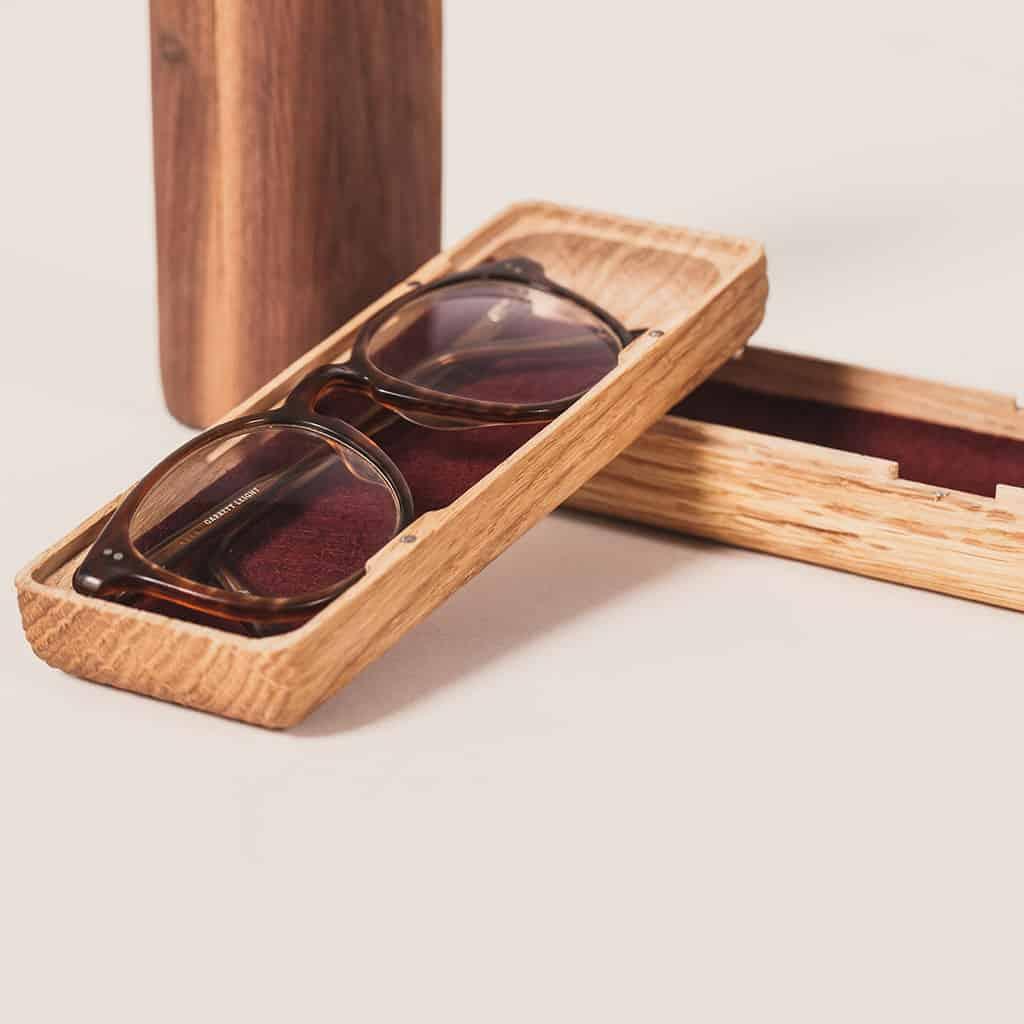 Brillen Etui Holz Tischlerei Ulrich